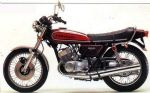 KAWASAKI - H1E - TANK - TRANSFERS - 1974 - CANDY RED MODEL - D57017
